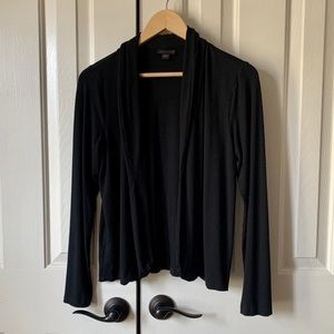 Simple black cardigan